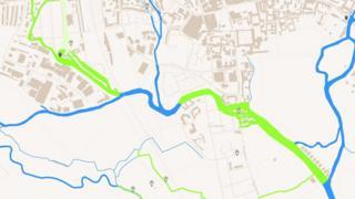 Oxford Flood Map