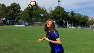 Violeta Slović, kapitenka Spartaka i reprezentacije Srbije