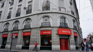 Vista do prédio onde Ernesto Che Guevara nasceu em Rosário, Argentina. Foto do arquivo