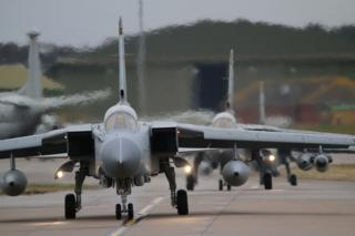 The last operational flight of XV Squadron at a cold and at times wet RAF Lossiemouth Friday 17th March