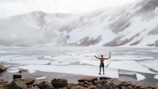 Film Maker S Passion For Wild Swimming Bbc News border=