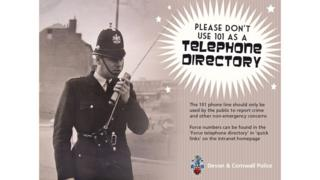 Devon and Cornwall Police Poster