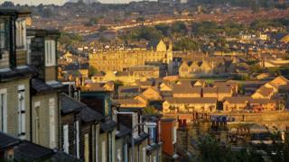 General view of Bradford