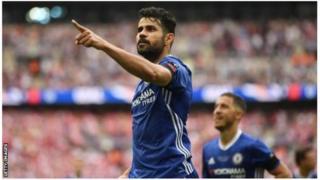 Diego Costa ntabwo arongera gukinira Chelsea kuva yatsindwa na Arsenal ku mukino wa nyuma wa FA mu kwezi kwa gatanu