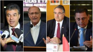 Beto Richa, Gerlado Alckmin, Raimundo Colombo e Marconi Perillo