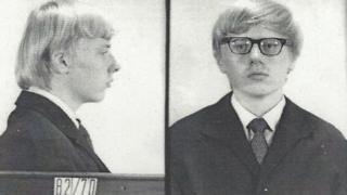 Karl-Heinz Borchardt en el momento de su arresto