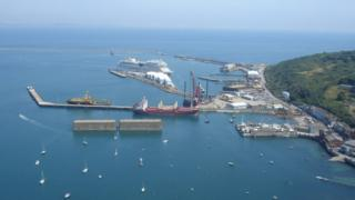 Portland port cruise berth