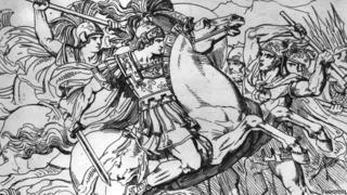 पोरस और सिकंदर