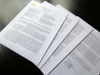 Четырехстраничное послание генпрокурора Энтони Барра лидерам конгресса