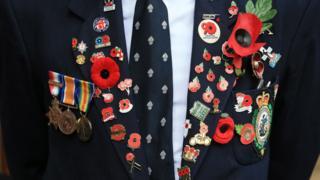 Real veteran war medals