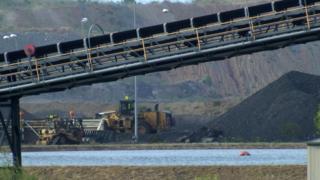 The Carmichael coal mine