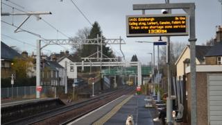 Dunblane train station