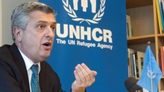 Umukuru wa HCR, Filippo Grandi