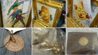 Recovered items