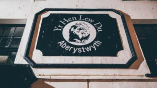Yr Hen Lew Du, Aberystwyth