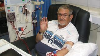 Renal patient Eric Webb