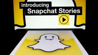Мобильное приложение Snapchat