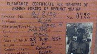 Biafra card