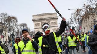 تواصلت الاحتجاجات للأسبوع الخامس على التوالي