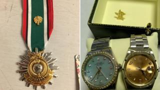Kuwait War medal; two Rolexes