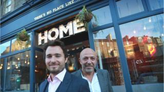 Home - Josh Littlejohn (left) and Dean Gassabi