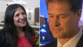 Preet Gill and nick Clegg