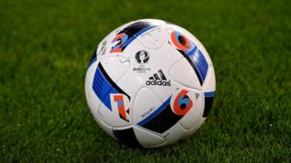 The official UEFA Euro 2016 match ball