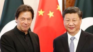 وزیر اعظم عمران خان اور چینی صدر