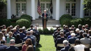 Trump, Amerika Serikat, Gedung Putih