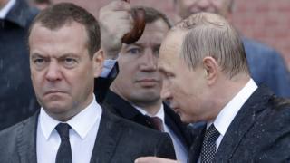 Хмурый Медведев