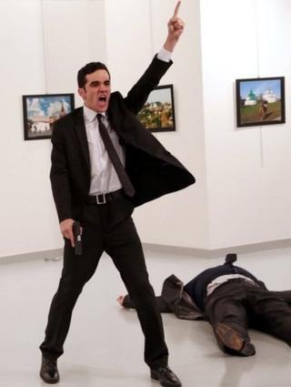 Вбивство посла Карлова