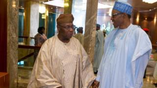 Tsohon shugaban Nigeria Cif Olusegun Obasanjo