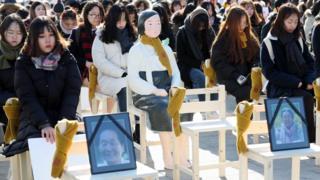 有团体要求日本就慰安妇问题作出真诚的道歉。