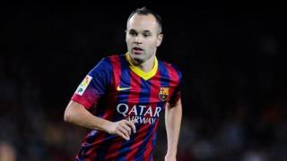 Andrés Iniesta dey play for match