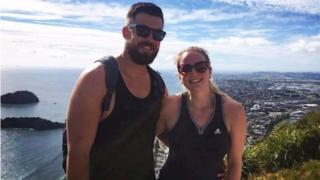 Matthew Williamson and Justine Bennett