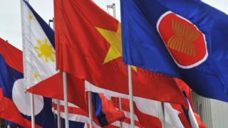 ธงประจำชาติประเทศสมาชิกอาเซียน