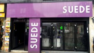 Suede cafe Manchester