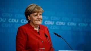 المستشارة الألمانية، انجيلا ميركل، تعلن ترشحها لولاية رابعة