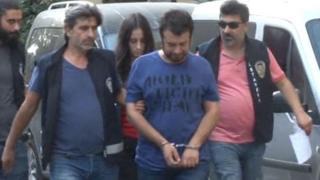 İstanbul'da gözaltına alınan bir kişi