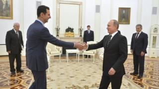 Akwai kyakkyawar dangantaka tsakanin Syria da Rasha