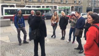Invisible Edinburgh walking tour