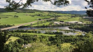 View from Kinnoull Hill, Perth