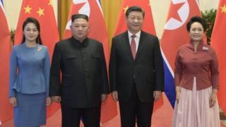 2019年1月,金正恩第四次訪問中國。