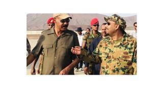 Daga hagu shugaban kasar Eritrea Isaias Afwerki da kuma Firai Ministan Ethiopia Abiy Ahmed lokacin da suka hadu don bude babbar hanyar kan iyakar.