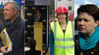 Leader collage