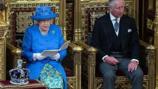 відкриття парламенту Королевою