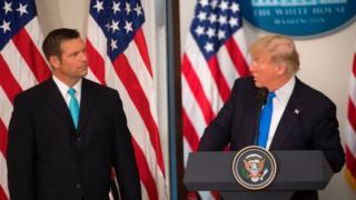 Trump and Kobach