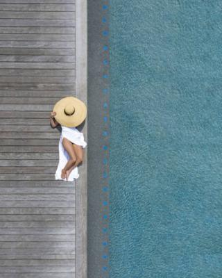 in_pictures Aerial picture from The Beauty Of Swimming Pools