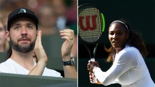 Alexis Ohanian and Serena Williams