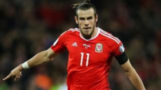 Gareth Bale dan wasan yankin Wales